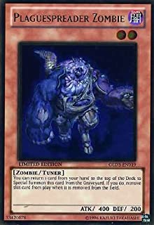 Yu-Gi-Oh! - Plaguespreader Zombie (GLD3-EN019) - Gold Series 3 - Limited Edition - Ultra Rare