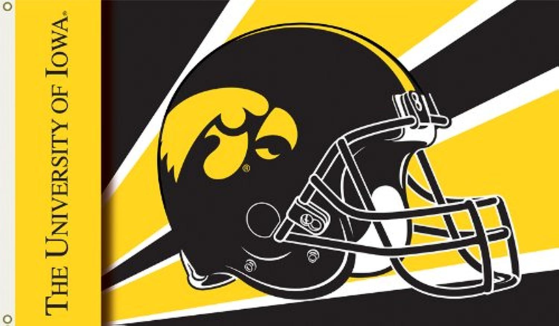 NCAA Flag NCAA  Iowa Hawkeyes Helemet