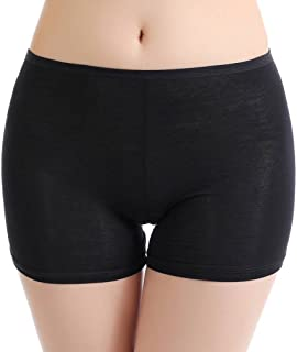 COMVIP Women's Lightweight Summer Solid Stretch Safety Pants Legging