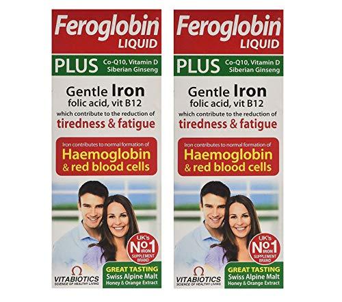 Vitabiotics | Feroglobin Plus | 2 x 200ml