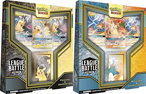 GET 3 Charizard GXs!! Pokemon TCG 2020 League Battle Box Decks - Both Sets!