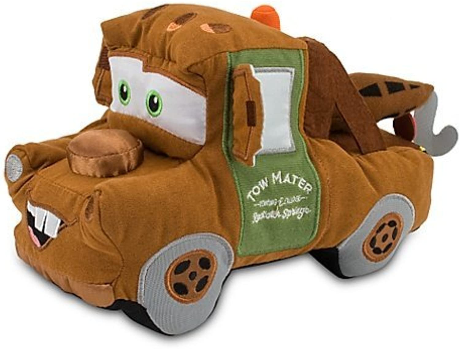 Disney Pixar Cars 2 Movie Exclusive 8 Inch Plush Tow Mater by Disney Interactive Studios
