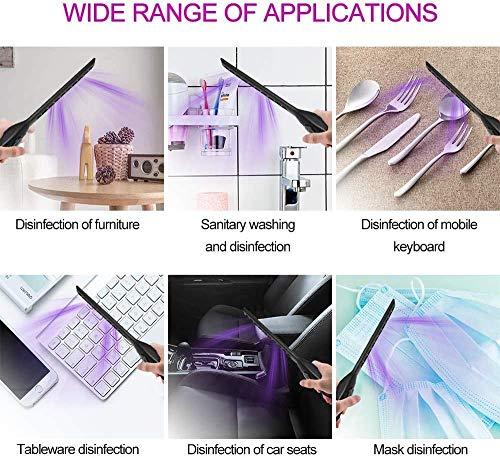 RO Lampada UVC, LED Lampada UV Viaggi-Versione migliorata