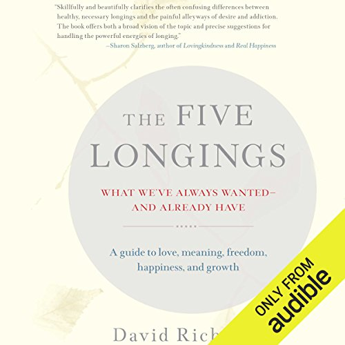 The Five Longings audiobook cover art