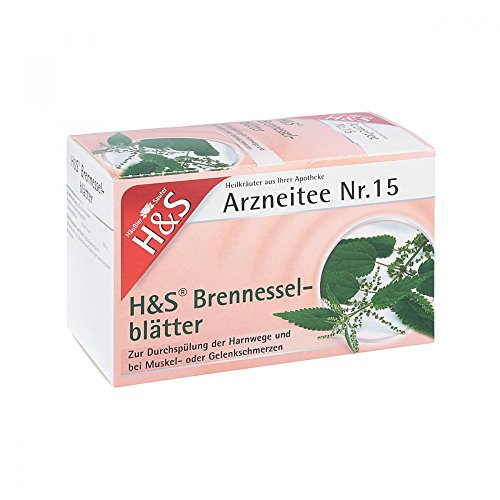 B&S la hoja de ortiga bolsas de filtro de té 20 unidades
