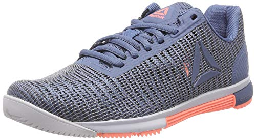 Reebok Speed TR Flexweave, Zapatillas de Deporte para Mujer, Multicolor (Blue Slate/Spirit White/Digital Pink 000), 38 EU