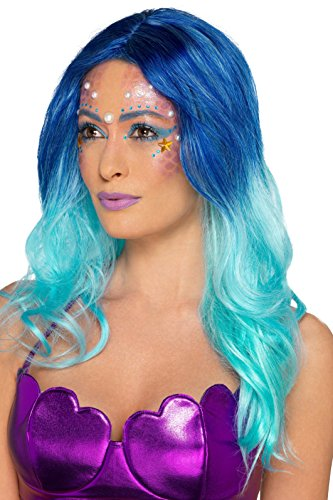 Generique - Meerjungfrau Make up Set mit Schablone