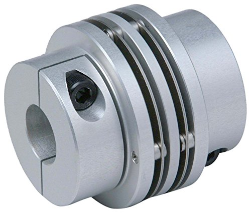 Lovejoy 77175 Size MDS-50C Mini Disc Spacer Clamp Style Coupling, Complete Coupling, 0.625