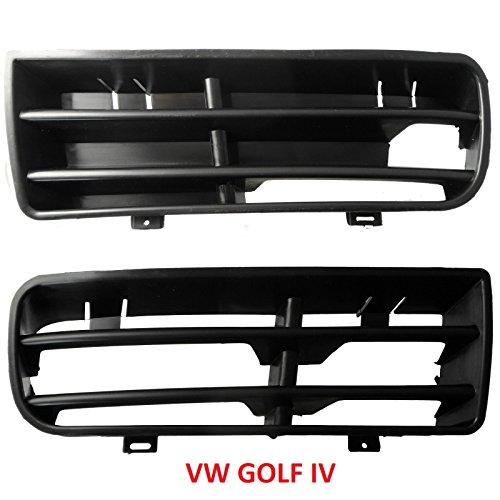 VW Golf 4 IV Gitter Blende für Stoßstange vorne Links und Rechts SET NEU