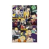 SLTG Anime-Poster mit Bananenfisch, Asche Luchs und Eiji,