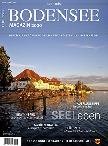 Bodensee Magazin 2020: Die besten Seiten für traumhafte Ferien