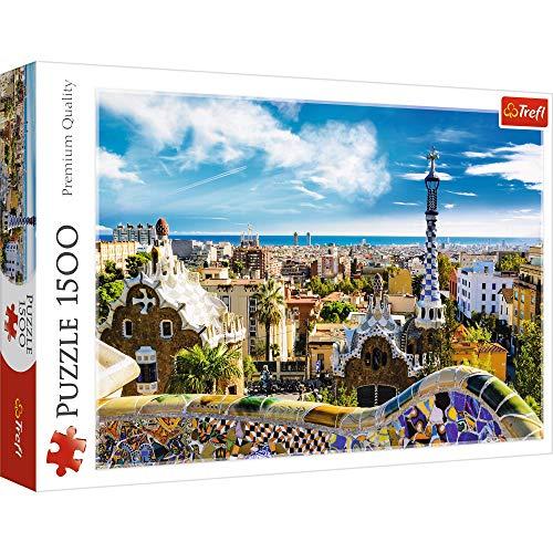 Trefl 26147 1500pc(s) Puzzle - Puzzles (Buildings, Children, Park Güell, Barcelona, Boy/Girl, 12 yr(s), Cardboard)