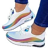 Zapatillas casuales con cojín de aire para mujer, zapatillas de...