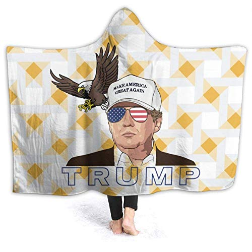 Trump 2020 Elect That MF 'er Mother Fcker unterstützt Wieder Trump Hooded Blanket Superweiche Sherpa Fleece Throw Blanket 50
