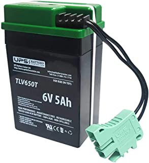 Rollplay 6V GMC Yukon Denali Fire Rescue Compatible Replacement Battery by UPSBatteryCenter