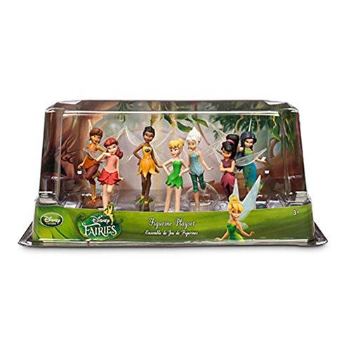 Offizielles Disney Tinkerbell Fairies 7 Figur Spielset