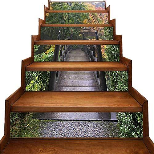 JiuYIBB - Adhesivos decorativos para pared, diseño de plantas