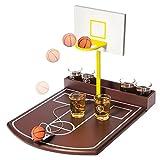 Bere partito gioco - pallacanestro tiro gratis tiro - 6 bicchierini incl.