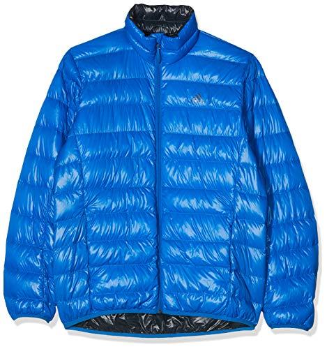 adidas Light Down j – Anorak pour Homme, Couleur Bleu, Taille 186
