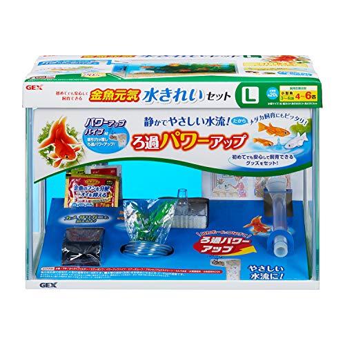 ジェックス 金魚元気 水きれいセット L