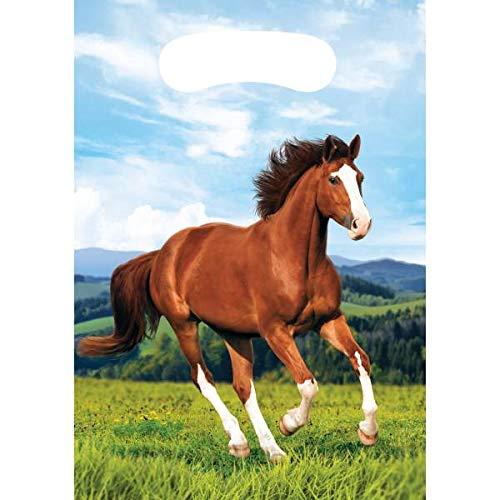 Kindergeburtstag Pferde Pony 8 Partytüten