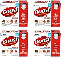 BOOST Original Meal Replacement Drink, 237 ml, 6 Count Variety Pack (Box Of 4) (Packaging May Vary)