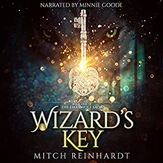 Wizard's Key audiobook cover art