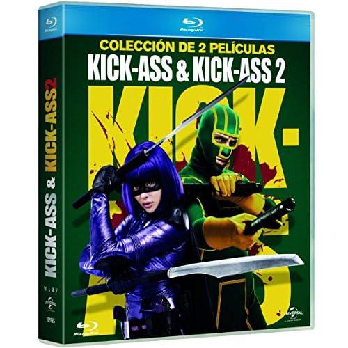 Pack: Kick-Ass 1 + Kick-Ass 2 (Edición 2017) [Blu-ray] a buen precio