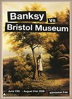 ポスター バンクシー basnksy bristol Hanging Klansman 2009 額装品 ウッドベーシックフレーム(オフホワイト)