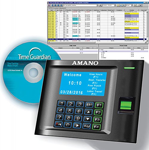 Amano MTX-30F/A969 MTX-30 Biometric Fingerprint Time Clock