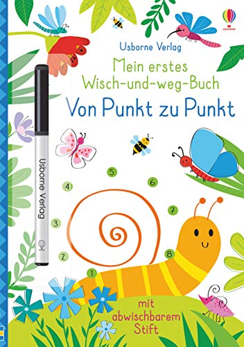 Mein erstes Wisch-und-weg-Buch: Von Punkt zu Punkt: mit abwischbarem Stift