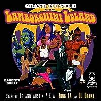DJドラマミュージックアルバムランボルギーニリーランド(2009)カバーポスター壁アートキャンバスプリント絵画リビングルーム家の装飾-24x24インチフレームなし(60x60cm)