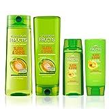 Garnier Fructis Sleek & Shine Conditioner, Frizzy, Dry, Unmanageable Hair, 12 fl. oz.