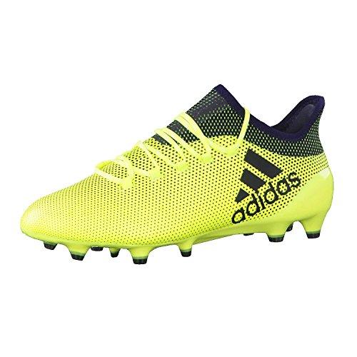 adidas X 17.1 Fg, Scarpe da Calcio Uomo, Multicolore (Multicolour Yellow), 42 EU