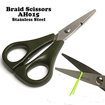 Fly Fishing Braid Scissors, Extremly Sharp, Stainless Steel, BEST QUALITY by firetrappp