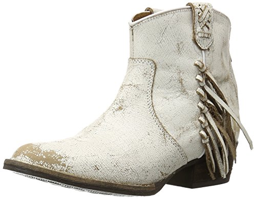 Very Volatile Women's Lookout Western Boot, Off White, 7.5 B US