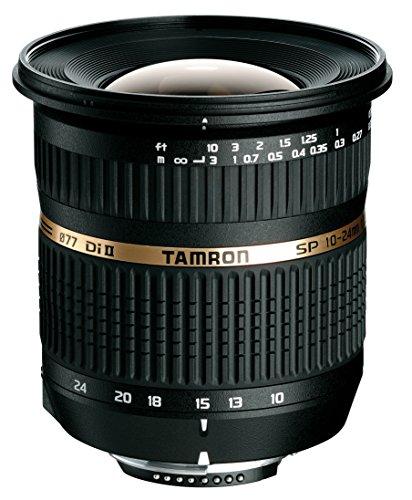 Tamron B001S SP AF 10-24/3.5-4.5 Di II LD ASL (IF) - Objetivo para Sony/Minolta (Distancia Focal 10-24 mm, Apertura f/3.5-4,5, Macro, diámetro: 77 mm), Negro