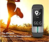 Zoom IMG-2 fitness tracker con frequenza cardiaca