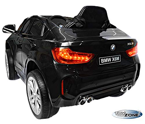 RC Auto kaufen Kinderauto Bild 3: ToyZone Kinderfahrzeug BMW X6M 12V Kinder Elektro Auto Kinderauto MP3 USB Ledersitz Eva*