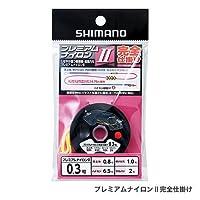 シマノ プレミアムナイロン2 完全仕掛け RG-AN1R 0.2号