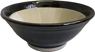 元重製陶所 石見焼 すり鉢 6号 (直径18cm・すべり止め付) 織部