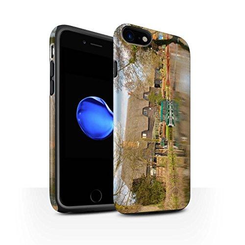 Stuff4 telefoonhoesje/Cover/Skin/IP-3DTBM / British Coast Collection Apple iPhone SE 2020 Huisje