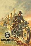 DGBELL German Krad Detector Wehrmacht Cartel de Chapa Retro Vintage Placa de Hierro Pintura Aviso de Advertencia Cartel Retro Cafe Bar película