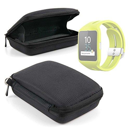 DURAGADGET Magnífica Funda Rígida para Reloj Sony Smartwatch 3 Sport | Garmin Forerunner 230 - con Correa De Mano
