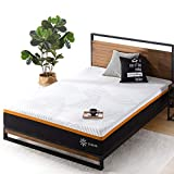 ZINUS 10 Inch Cooling Copper ADAPTIVE Pocket Spring Hybrid Mattress / Moisture Wicking Cover / Cooling Foam / Pocket Innersprings for Motion Isolation / Mattress-in-a-Box, Queen