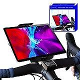 Soporte Tablet Bicicleta estatica Compatible con iPad Soporte Tablet Bicicletas estaticas Bicicleta Spinning eliptica Indoor Bici estatica Universal para Cualquier Tipo de Manillar