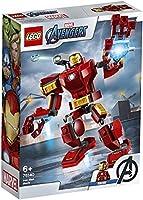 Lego 6289051 Lego Marvel Avengers Movie 4 Lego Marvel Avengers Movie 4 Iron Man Mecha - 76140, Multicolor