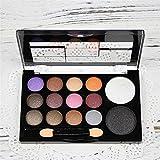 Efecto de larga duración 14 colores naturales maquillaje sombra de ojos paleta...
