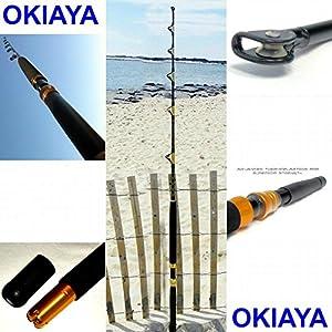 OKIAYA COMPOSIT 160-200LB The Big Nasty Saltwater Big Game Roller Rod