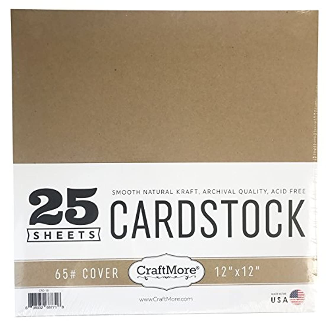CraftMore Cardstock Paper Value Pack, 12